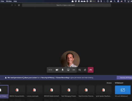 Microsoft Teams and macOS Catalina (10.15) broken screen sharing